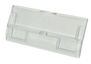 50 Suspension Plastic File Tabs- Heavy Duty