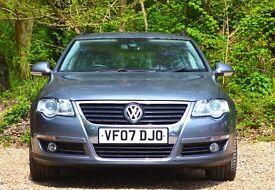 Volkswagen Passat 2.0 TDI Sport 5dr 1 OWNER | FULL SERVICE HISTORY 2007 (07 reg), Estate Diesel