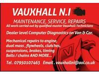 Vauxhall N.I (Maintenance, Service, Repair, M.O.T)