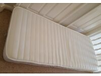 Small single mattress with memory foam(80cm x 200cm) for sale
