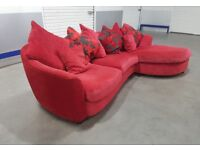Designer L-Shape Corner chaise sofa