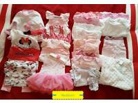 Bundle of girls in size Newborn