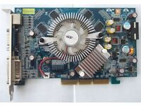 Geforce 7600 GS AGP Graphics Card 256MB DDR2 Memory
