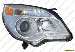 Head Lamp Passenger Side Ltz Mdl High Quality Chevrolet Equinox 2010-2015