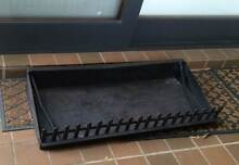 FIREPLACE JETMASTER LOG HOLDER /ASH TRAY WITH PICKET FRONT St Ives Ku-ring-gai Area Preview