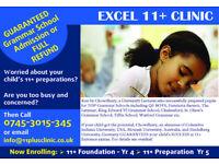 Guaranteed Grammar school admission (11 Plus) or your Money back: Maths, English, VR, NVR 11+ Tutor