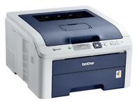 Brother HL3040CN Colour Laser Printer. Excellent Cond. Over 60% toner Left.