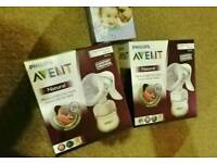 Breast pumps + pads and extras!