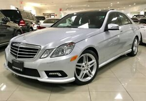 2011 Mercedes-Benz E-Class E350 4MATIC 1 OWNER AMG NO ACCIDENT N