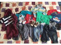 Bundle of Boys 3-6 months clothes