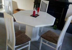 stunning table and chairs