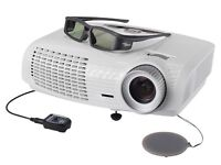 Optoma hd25 1080p 3d projector with 2 x 3d glasses