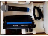 Numark WS 32 single diversity hand Held Wireless Microphone