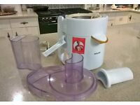 Philips Electric Juicer with all attachments included. Fully working. only used a few times.