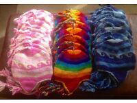 JOBLOT 30 Woollen Hats made in Nepal