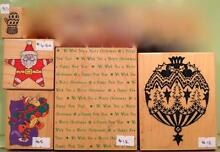 Quality Rubber Stamps - Christmas Eden Hills Mitcham Area Preview