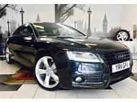 ★🎈NEW IN🎈★2011 AUDI A5 2.0 TDI S-LINE SPECIAL EDITION DIESEL★FULL LEATHER★MOT JUN 2018★KWIKI AUTOS