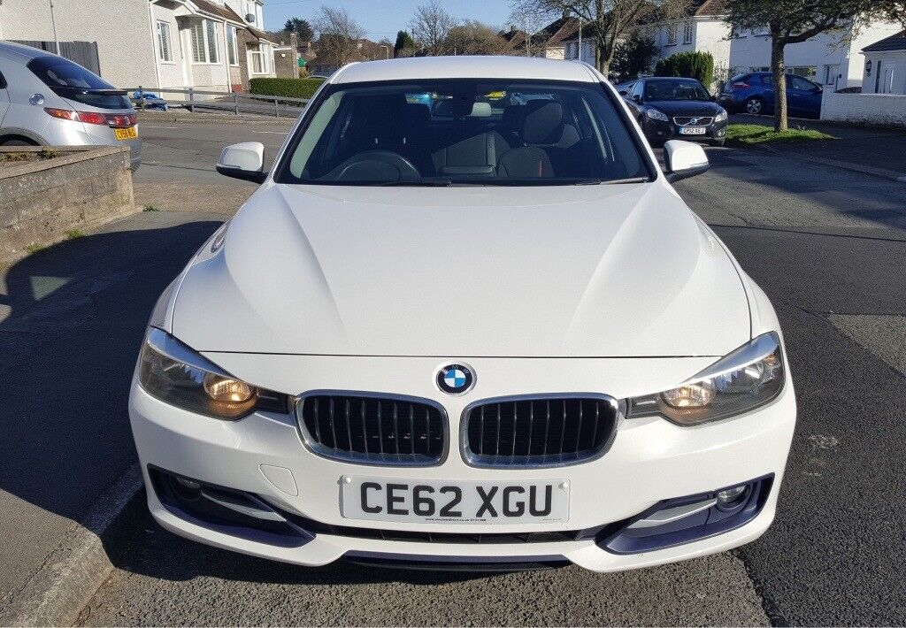 2013 (62 reg) White BMW 320d Sport | in Swansea | Gumtree