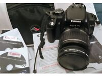 Canon EOS 350D Digital Camera 18_55mm set and bag