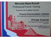 french conversation class or French private tuition
