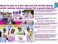 KM Colour Run for Guide Dogs in Medway Kent