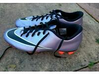 Size 7.5 mercurial football boots