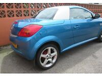 2006 VAUXHALL TIGRA EXCLUSIV 1.4 16V CONVERTABLE, 2 DOOR, Low mileage, super condition.