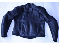 HEIN GERICKE TRICKY 2 VENTED LEATHER MOTORCYCLE JACKET UK 42 Chest EU 52