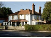 Bar staff and runners - The Old Plough, Stoke d'Abernon, Nr Cobham - up to £7.50/hr + great tips!