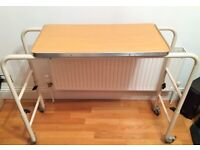 Mobility Over bed Chair Table Wheelchair Adjustable Height (Free Local Delivery)