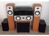 Denon AVR AMP & 6 Mordaunt-short speakers
