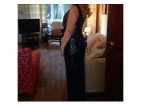 Sparkly Black Formal Dress