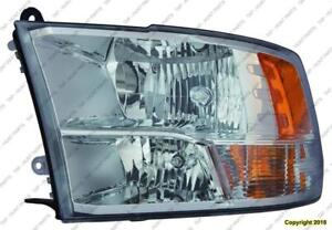 Head Lamp Passenger Side Halogen Without Dautomatic Transmission Time Running Lamp High Quality Dodge Ram 2009-2014