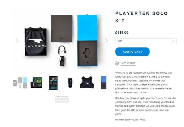 Playertek GPS Football tracker | in Plymouth, Devon | Gumtree