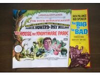 frankie howerd ' the house in nightmare park ' original cinema poster