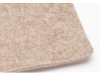 """Eco Felt 1/8"""" x 60"""" with adhesive backing -100m+ roll - For Sale!"""