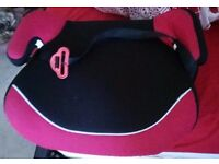 Red & Black Booster Seat