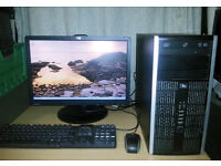 HP Compaq 6005 Pro Desktop PC - Full Setup