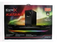 Sound BlasterX Katana Sound Blaster X-sword under monitor audio system SBX-KTN P/O