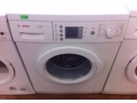 BOSCH - Exxcel , White , Digital , 1600 Express WASHER + 3 Months Guarantee + FREE LOCAL DELIVERY