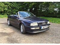 Audi 80 Cabriolet convertible 1996 FSH Cambelt & w/pump changed! Long MOT!