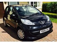 Peugeot 107-Limited edition KISS model-low mileage
