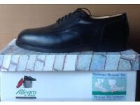 """Size 12 Brand New, Boxed, Allegro by Jallate Leather Shoes with """"Dynam Air System"""""""