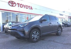 2017 Toyota RAV4 LE, 6499 Km's!, AWD, NOT a Rental!!, Trade In