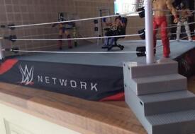 Large WWE Elite Wresting Ring. In or original wrestling box.