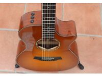 Taylor 512CE in Honey Sunburst – Excellent condition