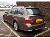 2005 (55) BMW 5 SERIES E61 523i 2.5 PETROL, MANUAL, TOURING / ESATATE, LONG MOT, PX BMW X5