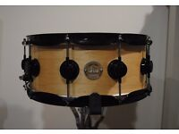 DW 14x6 Collectors Series Maple Snare Drum