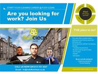 Early Morning Part time cleaner require in central of Glasgow