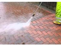 Driveways jet wash cleaning